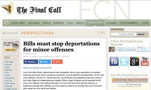 http://www.finalcall.com/artman/publish/Perspectives_1/Bills_must_stop_deportations_for_minor_offenses_2954.shtml