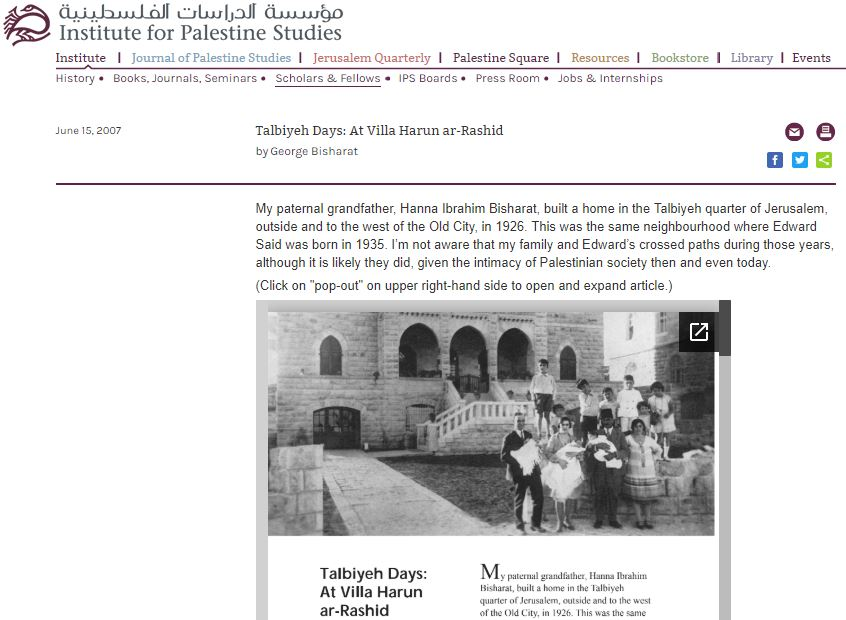 https://www.palestine-studies.org/institute/fellows/talbiyeh-days-villa-harun-ar-rashid