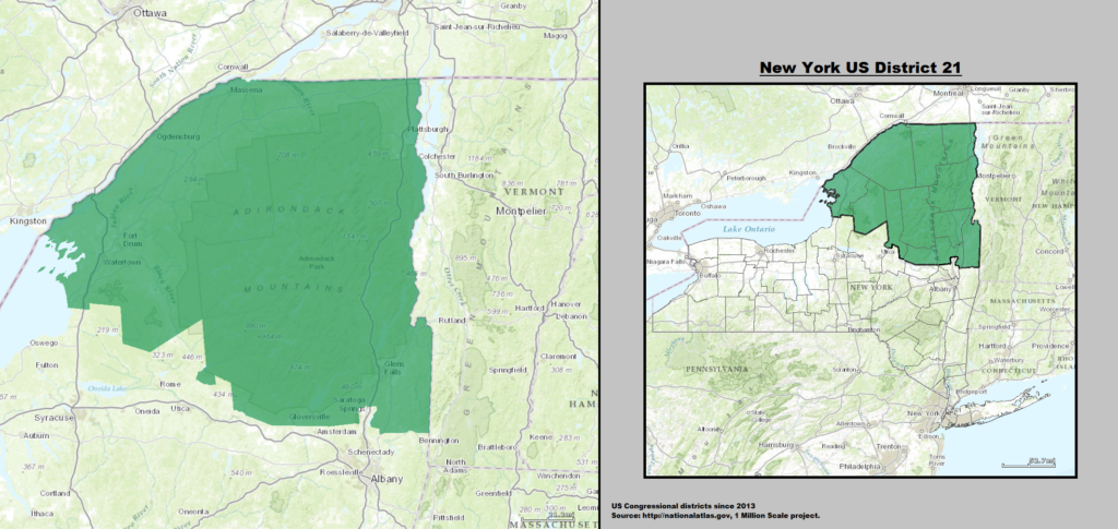 Public Domain https://commons.wikimedia.org/wiki/File:New_York_US_Congressional_District_21_(since_2013).tif