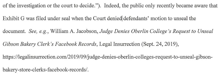 https://legalinsurrection.com/wp-content/uploads/2019/12/Gibsons-Bakery-v.-Oberlin-College-Media-Reply-in-Support-of-Motion-to-Unseal-Facebook-Records.pdf