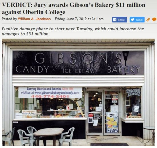 https://legalinsurrection.com/2019/06/verdict-jury-awards-gibsons-bakery-11-million-against-oberlin-college/