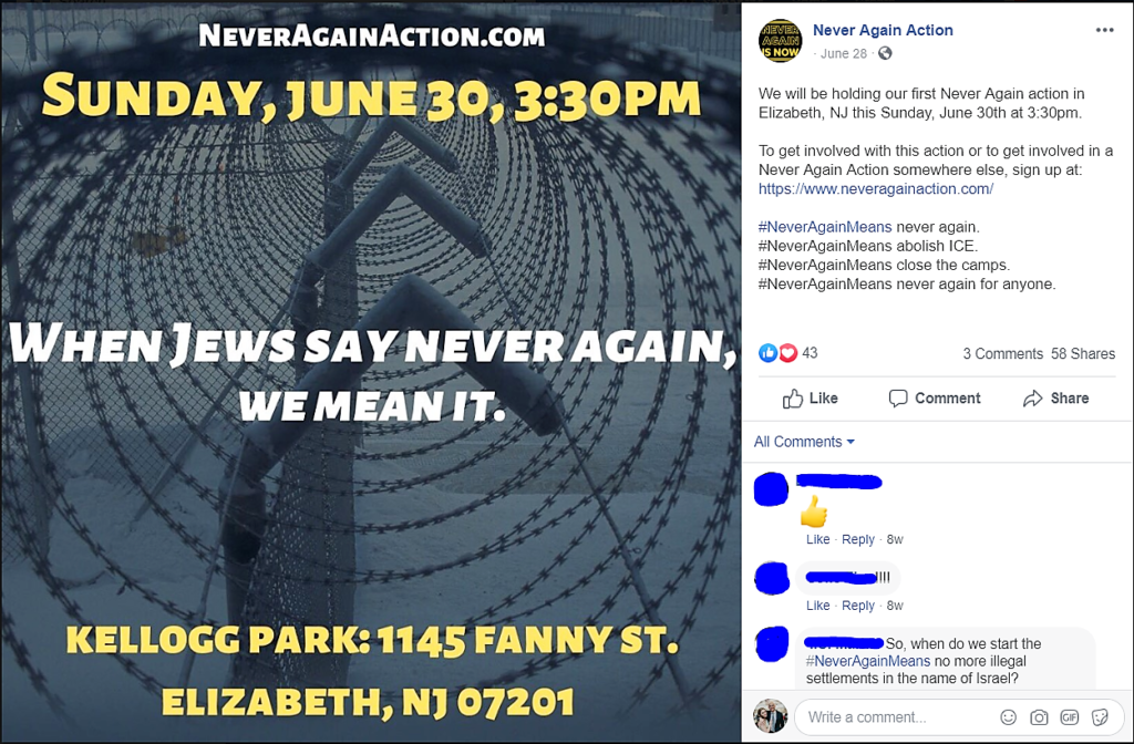 https://www.facebook.com/NeverAgainAction/photos/a.350711078953544/351094035581915/?type=3