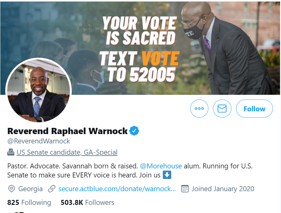 https://twitter.com/ReverendWarnock